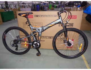 "Crosser DREAM FOLDING 26""  aluminium"